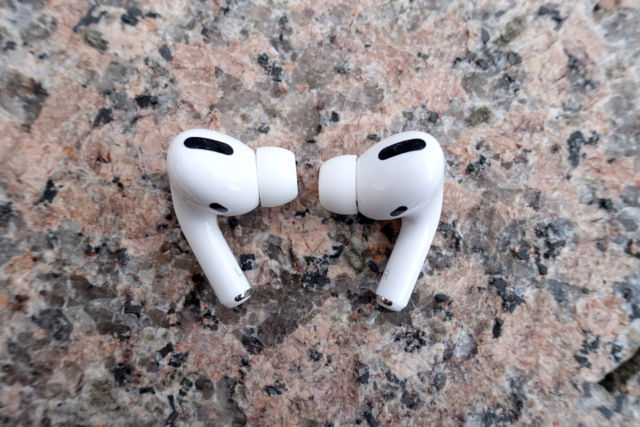 Apple's AirPods Pro are great noise-cancelling true wireless headphones.