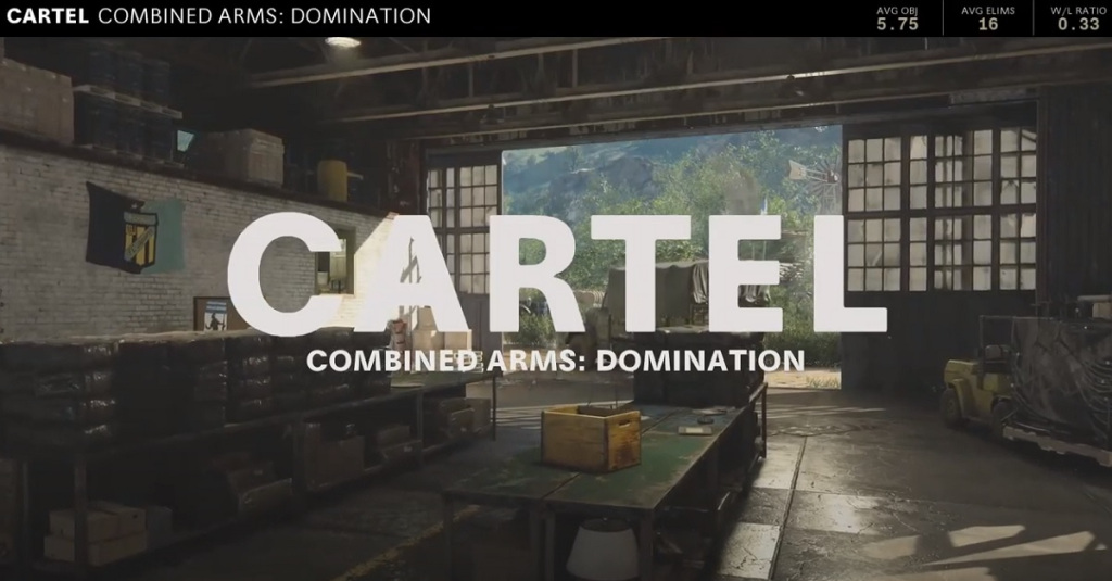 The Cartel map in Call of Duty: Black Ops -- Cold War.