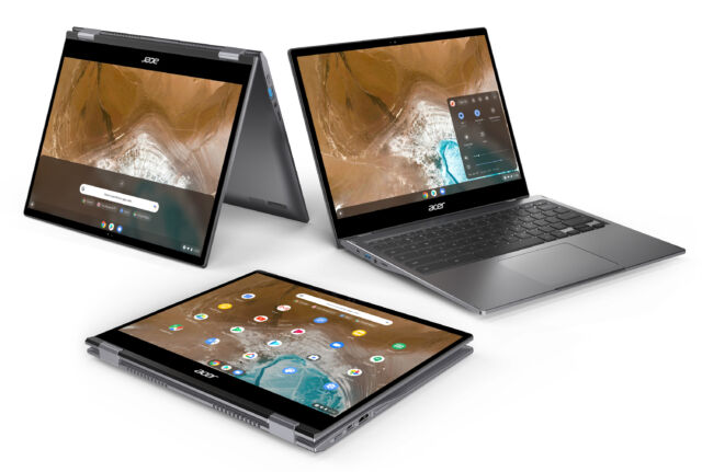 The Acer Chromebook Spin 713 is Acer's latest flagship Chromebook.