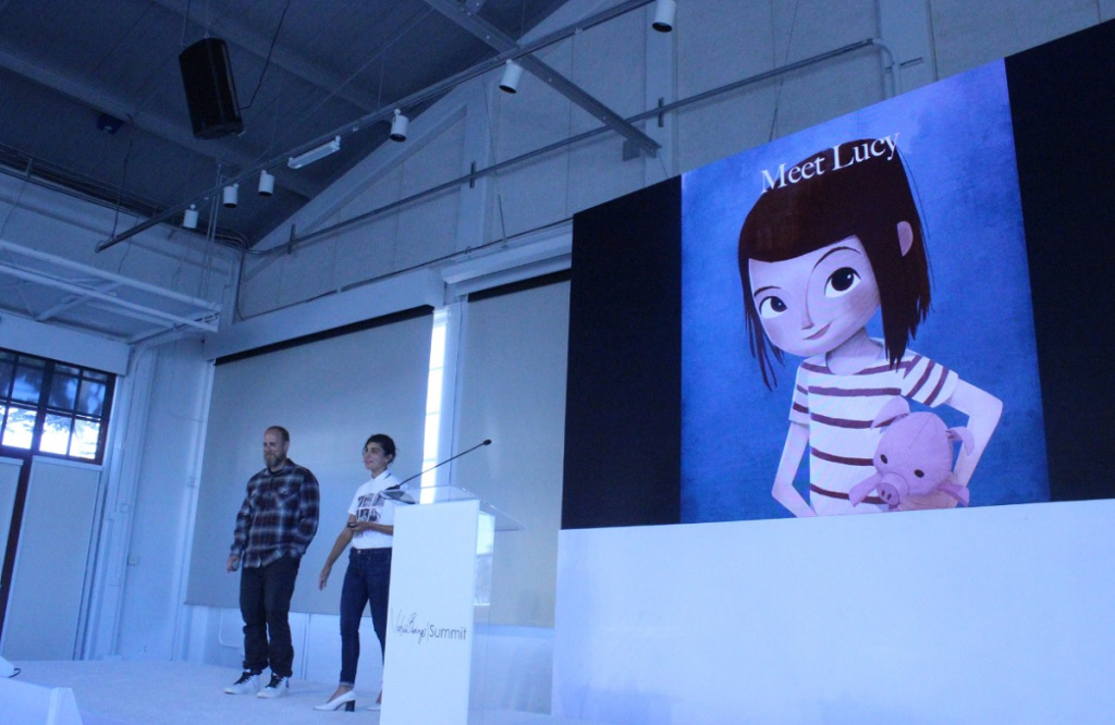 Pete Billington and Jessica Yaffa Shamash talk about Lucy at the Virtual Beings Summit.