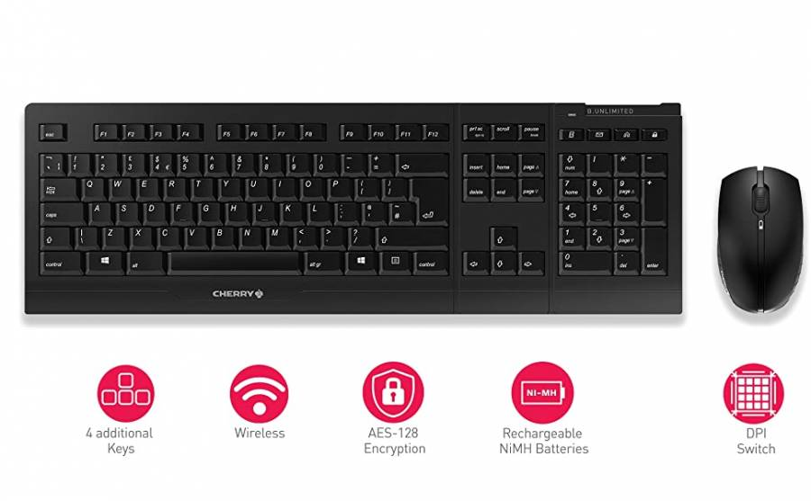 Cherry B Unlimited Wireless Keyboard and Mouse