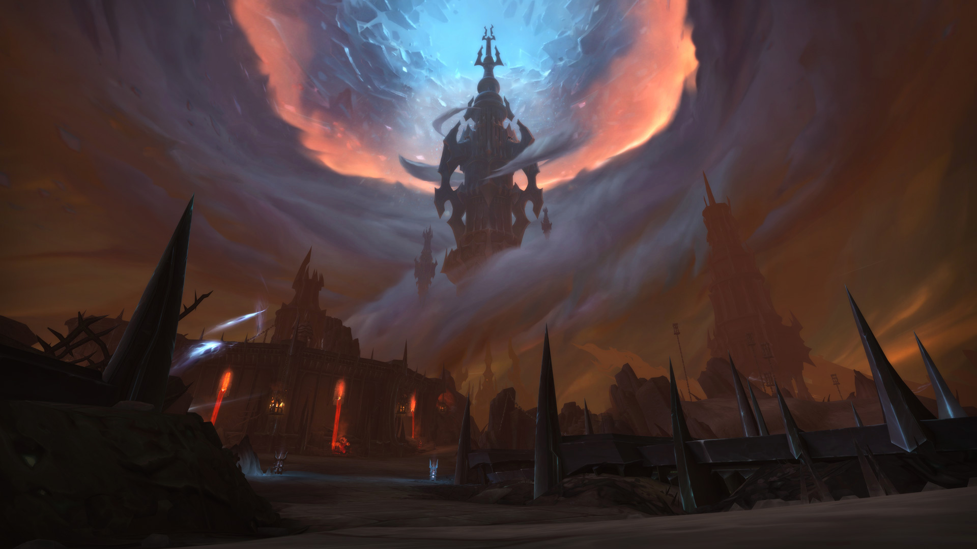 The Maw, where players will begin their quests in Warcraft: Shadowlands.