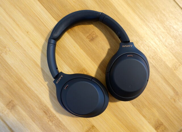 Sony's WH-1000XM4 sound great and have top-notch noise cancellation.