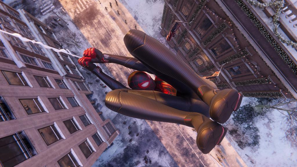 Spider-Man: Miles Morales feels like a next-gen game on PS5.