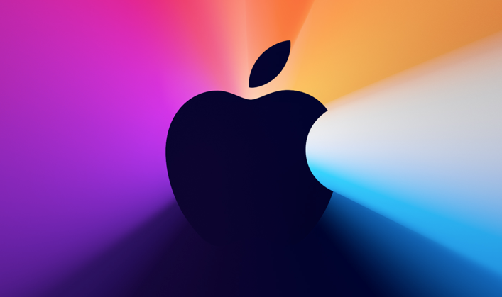 """The splash image for Apple's November 10, 2020 """"One More Thing"""" event."""