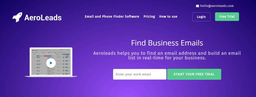 best lead generation tools AeroLeads