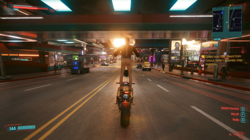 People are complaining about situations like this in <em>Cyberpunk 2077</em>.