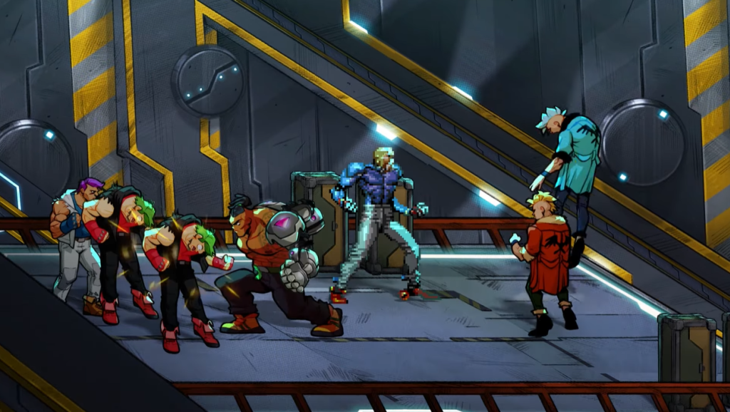 Streets of Rage 4 with the classic character sprites.