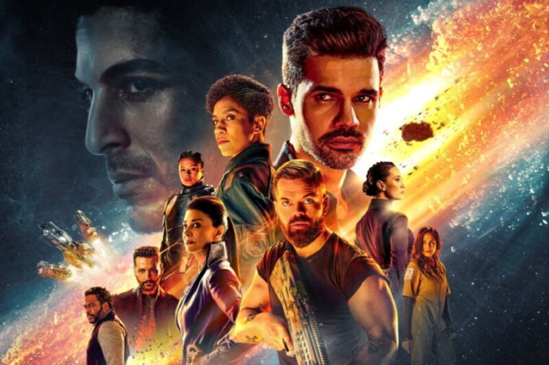 <em>The Expanse</em> returns to Amazon Prime for another epic season.