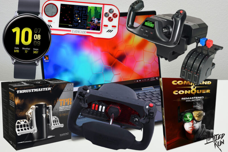 Just some of the prizes you could win by entering this year's sweepstakes.