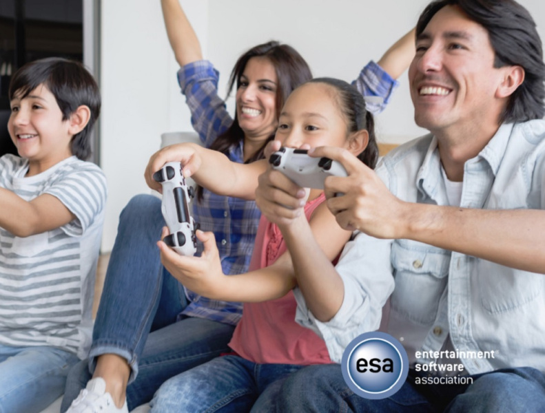 The Entertainment Software Association says 65% of U.S. adults play games