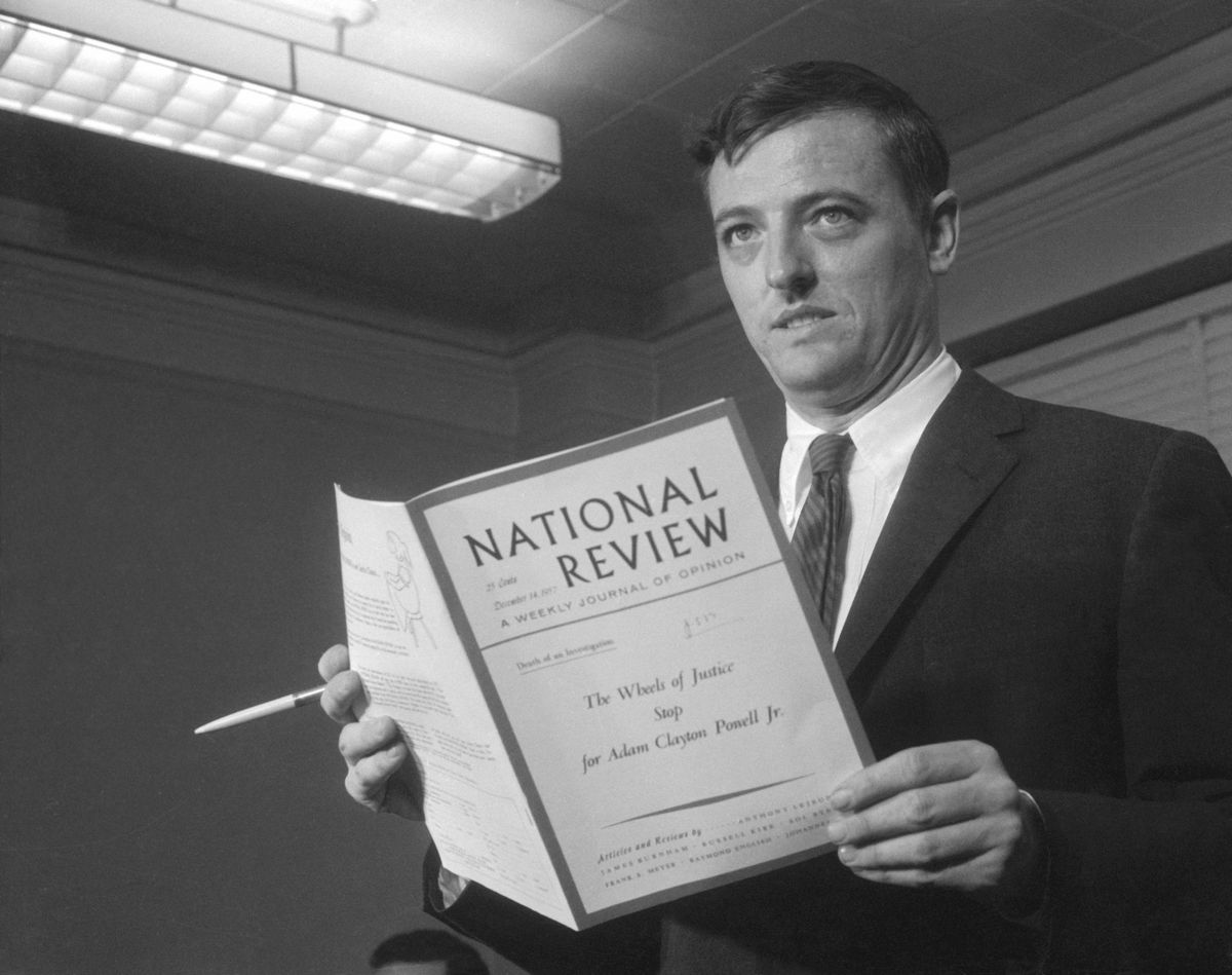 William F. Buckley Holding National Review