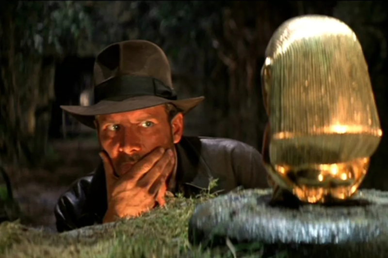 Artist's conception of the gaming public eyeing the prospect of another movie-licensed game with suspicion...