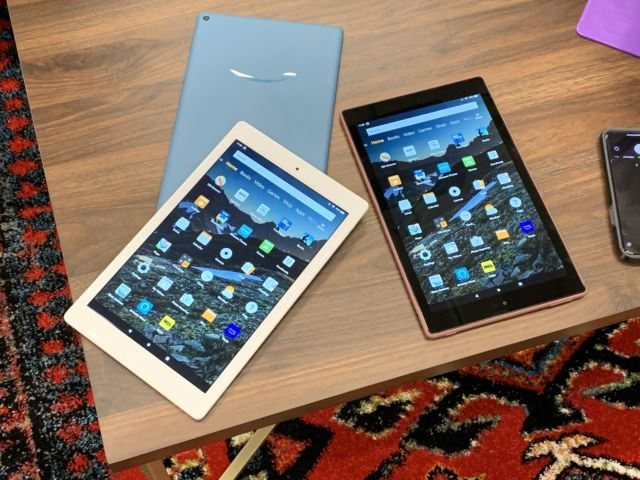 Amazon's Fire HD 10 tablet makes you deal with Amazon's heavily-skinned software but remains good value for those who want a 10-inch tablet on the cheap.