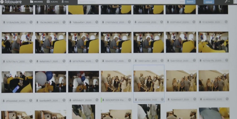 Metadata on the Reuters images.