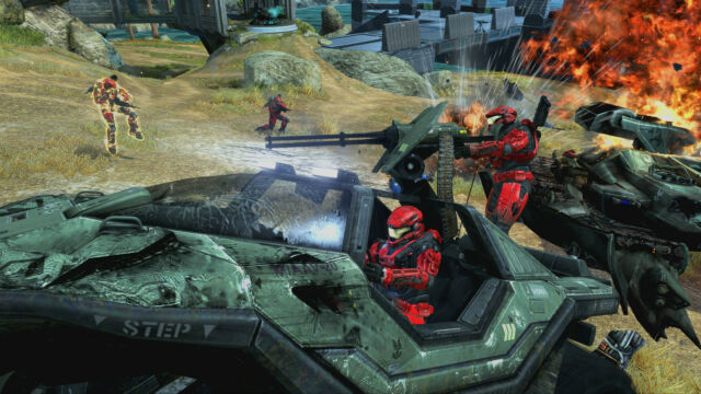 Some classic multiplayer mayhem in <em>Halo: The Master Chief Collection</em>.