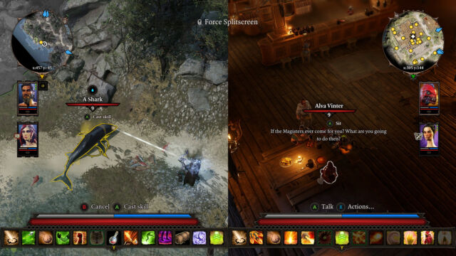 <em>Divinity: Original Sin 2</em>'s mammoth story can be played entirely in split-screen.
