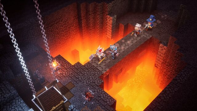 <em>Minecraft Dungeons</em> is a breezy and uncomplicated dungeon crawler.