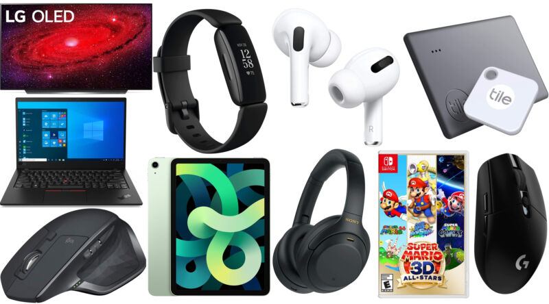 Today's best tech deals: AirPods Pro, Fitbit trackers, Lenovo ThinkPads, and more
