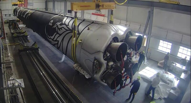 Firefly Aerospace is targeting a launch in mid-March for its Alpha rocket.