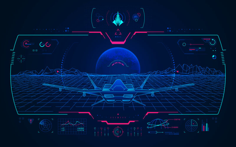 Artist's impression of some kind of cool integrated battlespace AR/VR interface kind of thing.